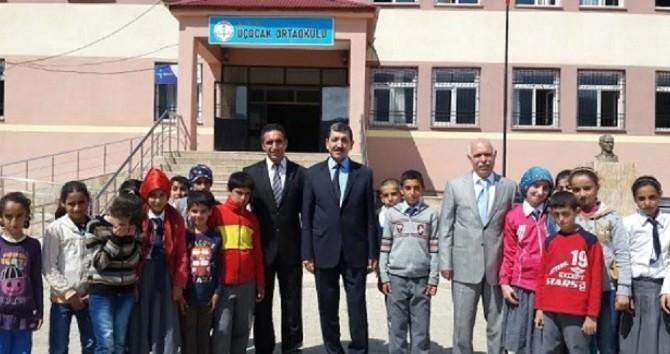 Elazığ Milli Eğitim Müdürü Bağlıtaş Arıcak'ta İncelemelerde Bulundu