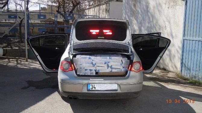 Erzincan'da 5 Bin Paket Kaçak Sigara Ele Geçirildi