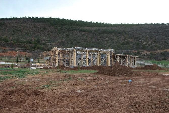 Esire Termal Turizm Merkezine Saatlik Banyo Yapımına Başlandı