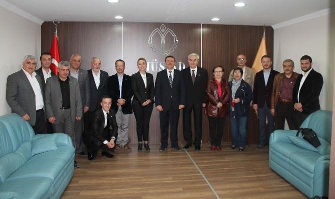 CHP Milletvekili Adayları MÜSİAD'ı Ziyaret Etti