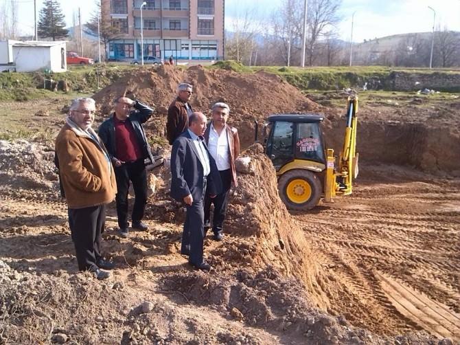 Hisarcık'ın Yeni Hükümet Konağı İnşaatı Başladı