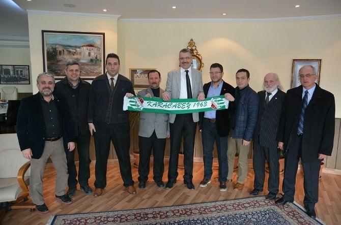 Özkan'dan Bursaspor'a Destek
