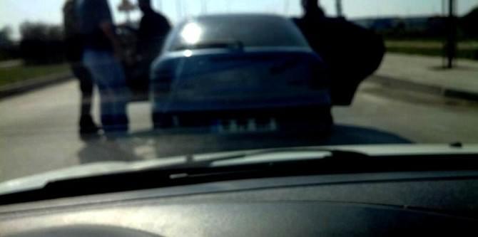 Trafik Magandaları Yaşlı Adamı Darp Etti