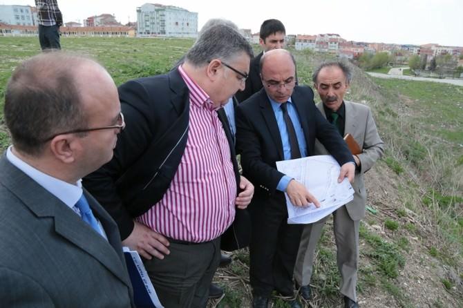 Kırklareli Belediye Başkanı Kesimoğlu, Süpürgeciler Sitesi'nde İncelemelerde Bulundu