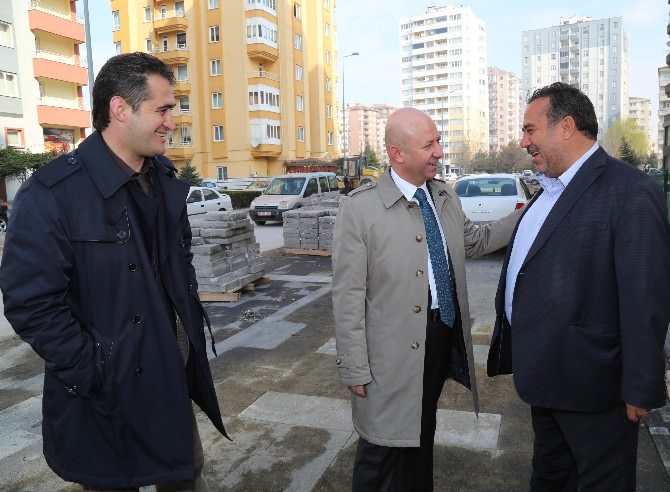 Başkan Çolakbayrakdar Güne Erciyesevler'de Başladı