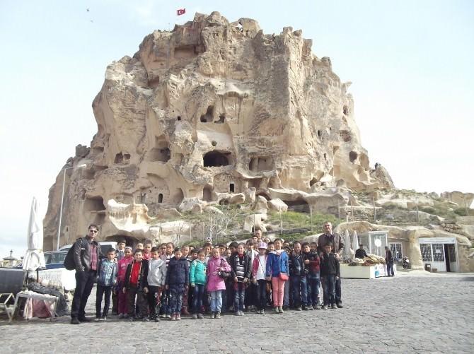 Köylerde Öğrenim Gören Çocuklar Kapadokya'yı Geziyor