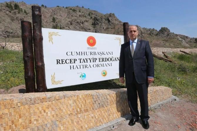 Amasya'da Cumhurbaşkanı Erdoğan Adına Hatıra Ormanı Oluşturuldu