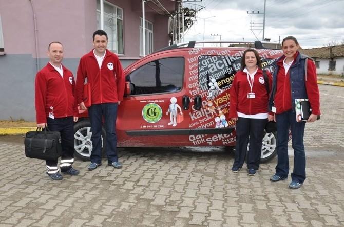 Biga'da Evde Sağlık Hizmeti Başladı