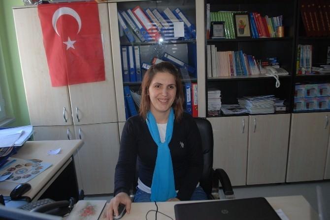Sakatlar Derneği Çerkezköy'de Kadınlar Kolunu Kurdu