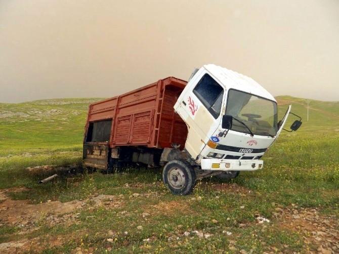 Şanlıurfa'da Bir Kamyonda 10 Bin Litre Kaçak Akaryakıt Bulundu