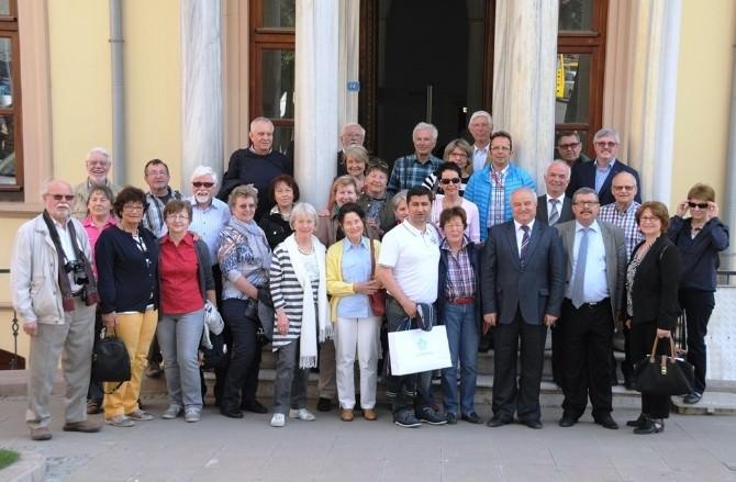 Kardeş Şehir Bayreuth'tan Süleymanpaşa'ya Sürpriz Ziyaret