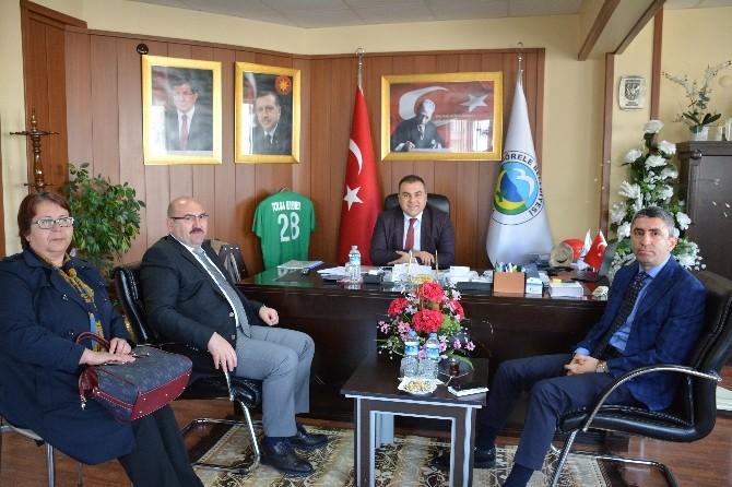 DSİ Bölge Müdürü Berber'den Görele Belediye Başkanı Erener'e Ziyaret