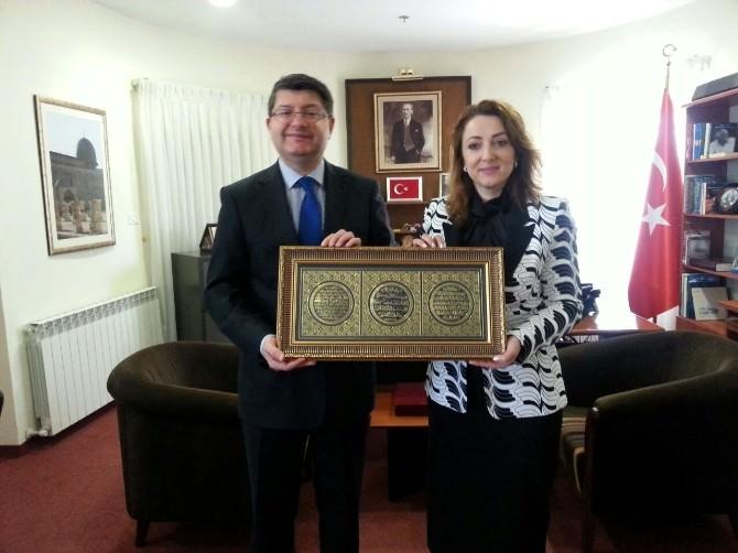 Türkiye Cumhuriyeti Kudüs Büyükelçisi Mustafa Sarnıç:
