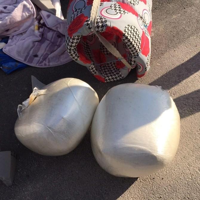 Uşak'ta 23 Kilo Esrar Yakalandı