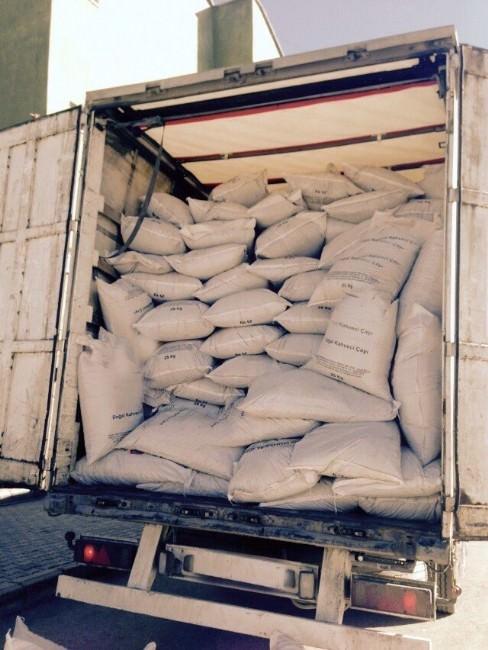 Van'da 25 Tonluk Kaçak Çay Operasyonu