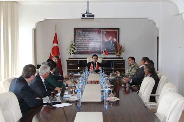 Özalp'ta Seçim Güvenliği Toplantısı Yapıldı