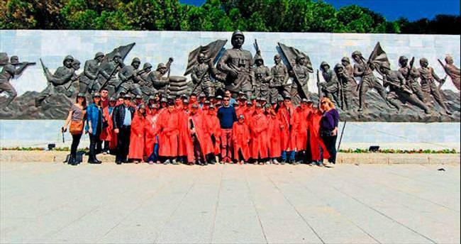 EBSO'lu öğrenciler Çanakkale'yi gezdi