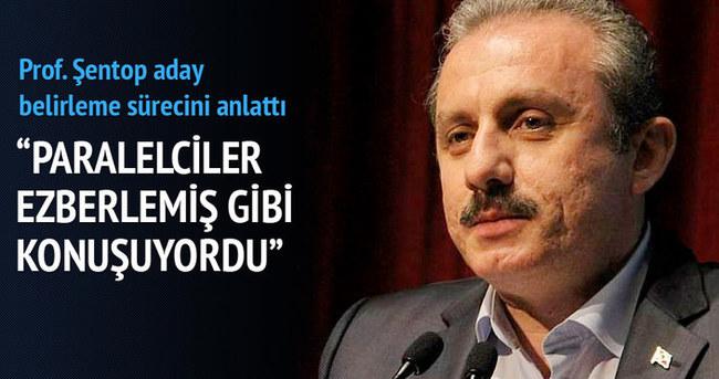 Mustafa Şentop aday adaylarının seçilme aşamalarını anlattı