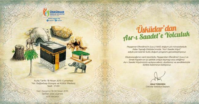 Üsküdar'da Asr-ı Saadet'e yolculuk