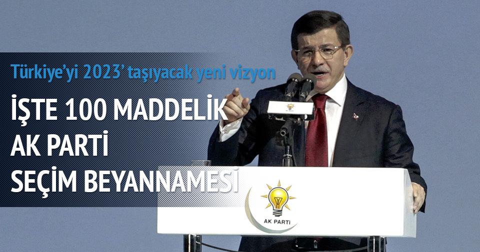 Türkiye'yi 2023'e taşıyacak yeni vizyon