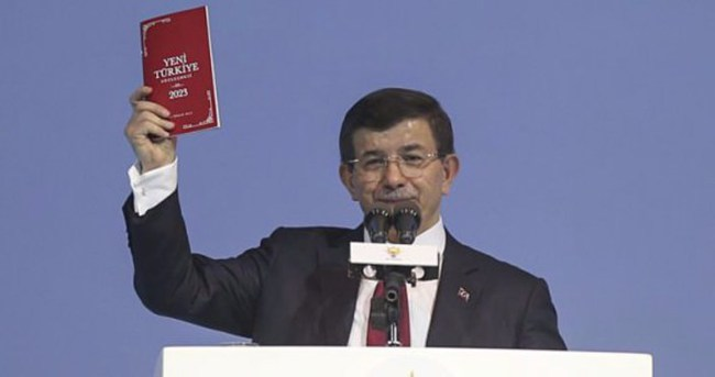 İşte AK Parti'nin 7 Haziran seçim beyannamesi