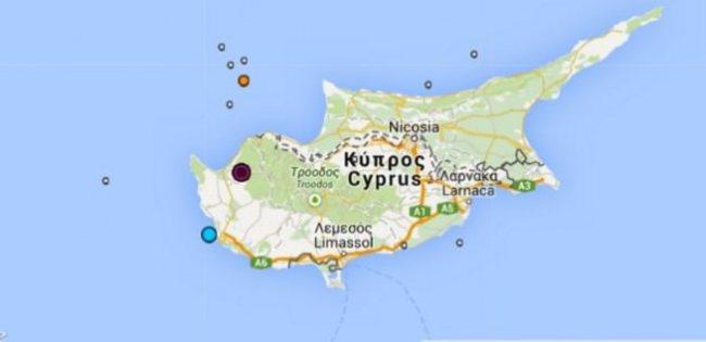 Kıbrıs'ta deprem oldu