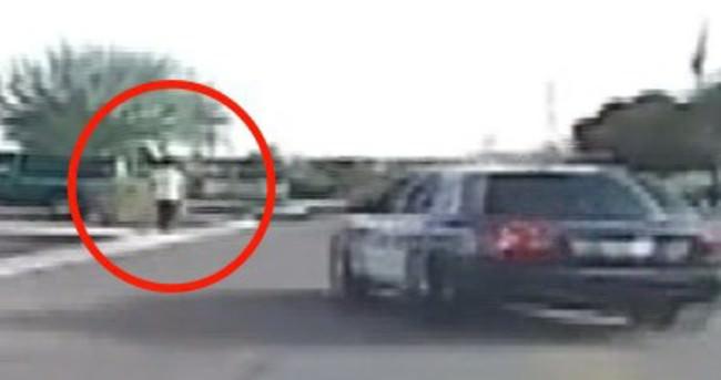 Amerikan polisi, şüpheliyi kasti olarak ezdi