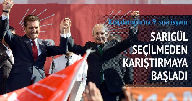 Sarıgül'den Kılıçdaroğlu'na 9. sıra isyanı