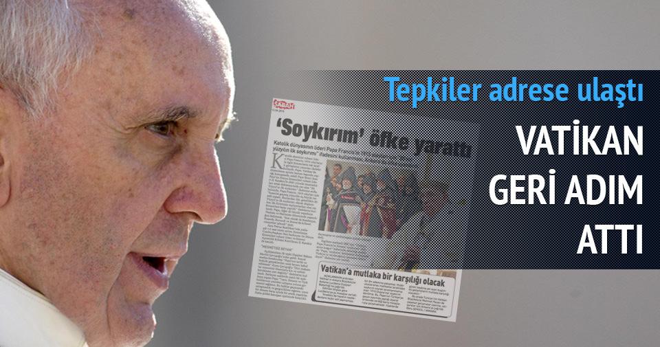 Vatikan'dan Türkiye açıklaması