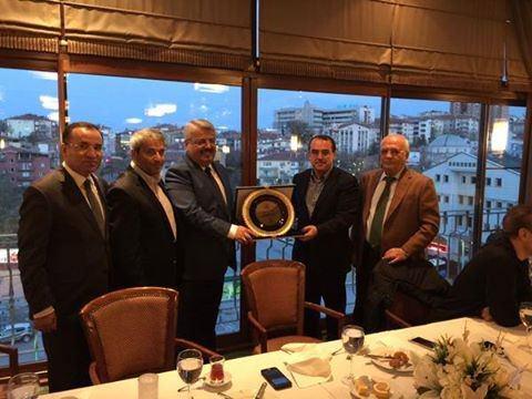 AK Parti Milletvekili Adayı Ergen, AK Parti Grup Başkanlığı Veda Yemeğine Katıldı