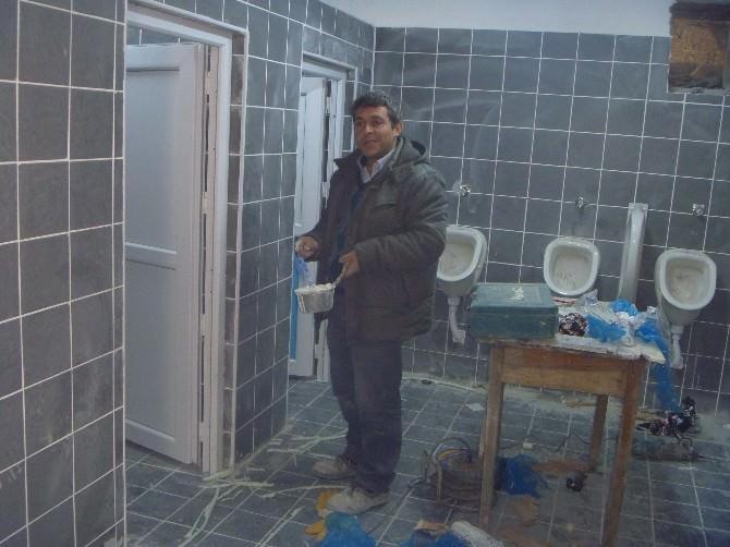 Bilecik Osmangazi Camii'nde Yenileme Çalışmaları Tamamlandı
