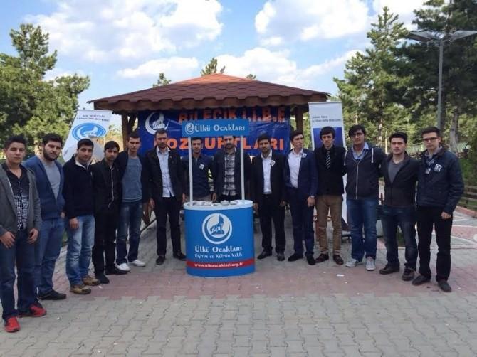 Bilecik Ülkü Ocakları Fırat Çakıroğlu Anısına Helva Dağıttı
