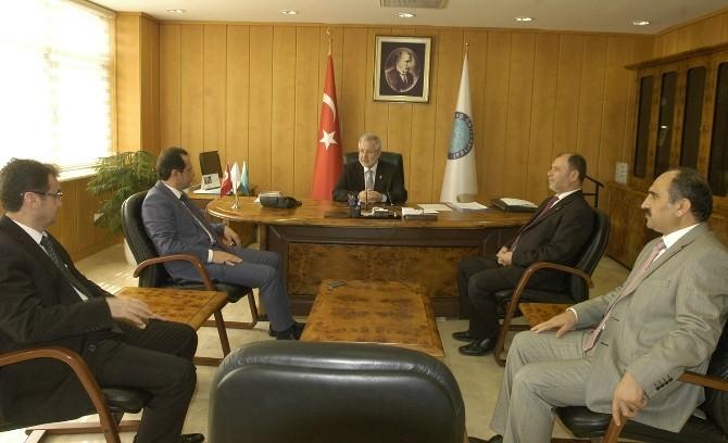 Bursa Emniyet Müdürü Yıldız'dan Rektör Ulcay'a Ziyaret