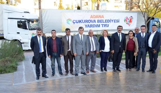 Çukurova'dan Türkmenlere Yardım Tır'ı