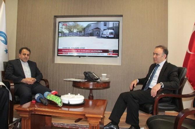 """D-8 Genel Sekreteri Mousavi: """"D-8 Türkiye'nin Bir Evladıdır"""""""