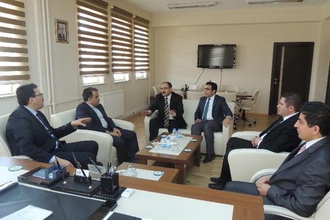 D-8 Genel Sekreteri Seyed Ali Mohammad Mousavi, DAP İdaresi Başkanlığı'nı Ziyaret Etti
