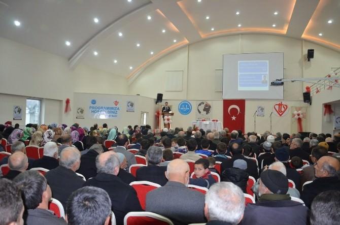 Fatsa'da 'Hz. Peygamber Ve Birlikte Yaşama Ahlakı' Konulu Konferans