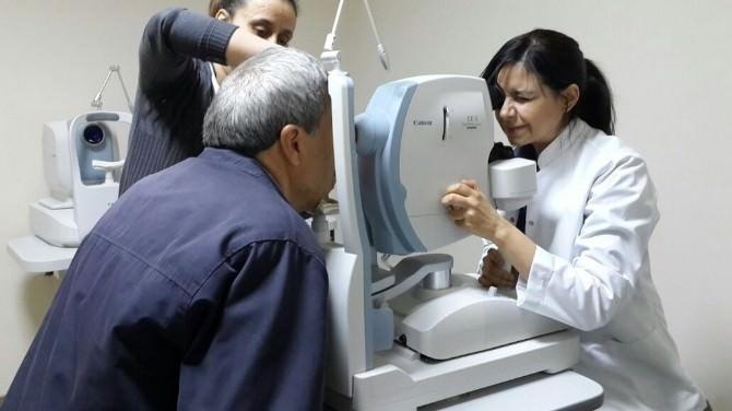 Uşak Devlet Hastanesinde Göz Anjio Ve Tomografi Hizmeti