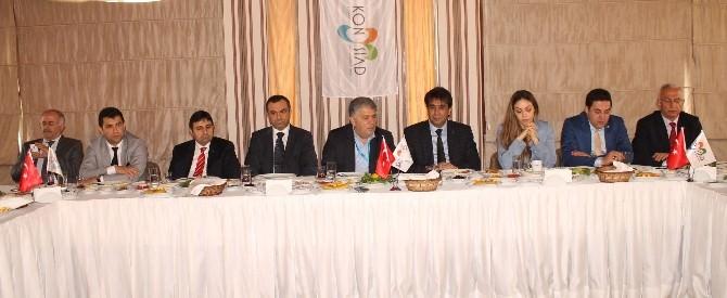 MHP Adayları Konysiad'ın Konuğu Oldular
