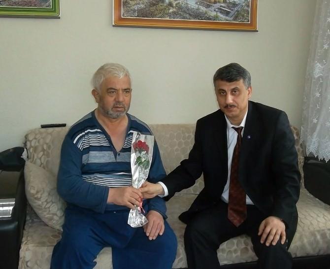 Müftü Arda, Şehit Aileleri İle Hasta Ve Yaşlıları Ziyaret Etti