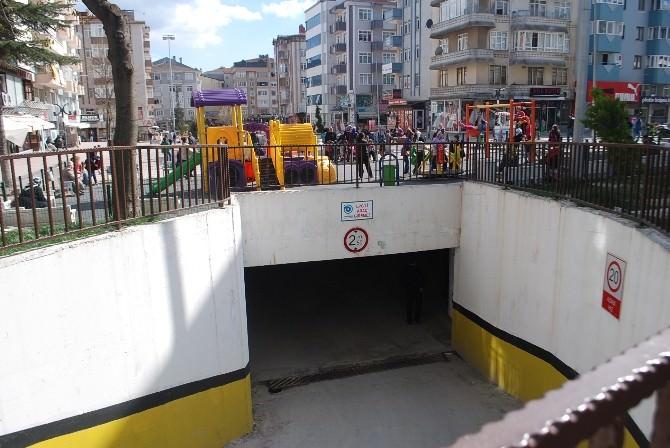 Çerkezköy Otoparkına 7 Gün 24 Saat Güvenlik