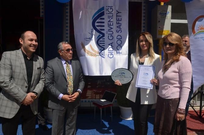 """Bafra'da Güvenilir Gıda Ödülü"""""""