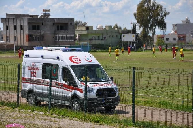 Şırnak'taki Amatör Maçta Olaylar Çıktı