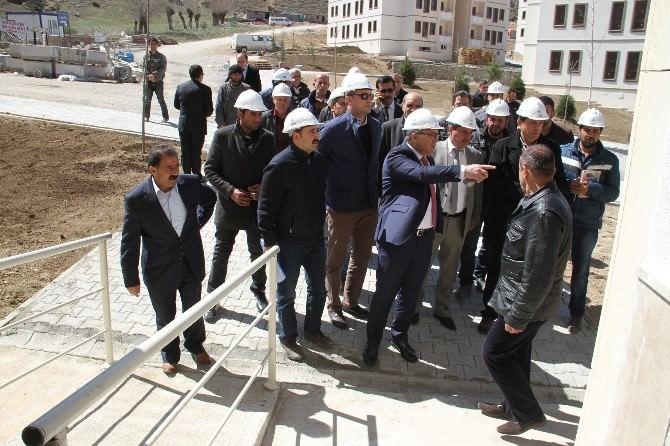 TOKİ Başkanı Erzincan'da