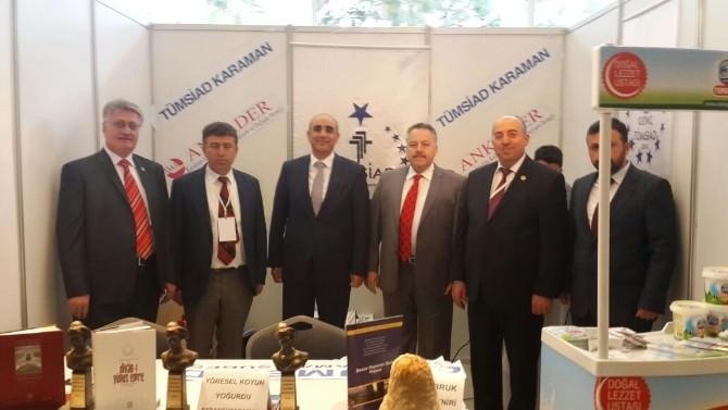 TÜMSİAD Konya Şubesi Tarım, Gıda Ve Gastronomi Kongresine Katıldı