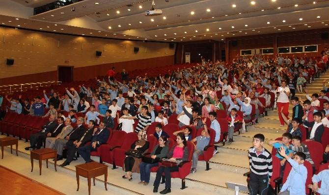 'Olimpik Eğitim Projesi' Kapsamında Öğrenciler Bilinçlendirildi