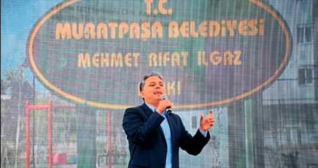 Muratpaşa'da park açılışları