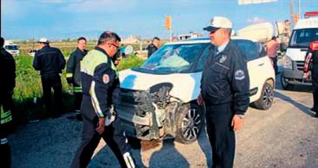 Salihli'de kaza: 1'i ağır 6 yaralı
