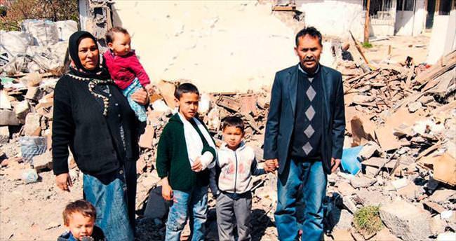 Belediye o evdeki 3 çocuğa da acımadı