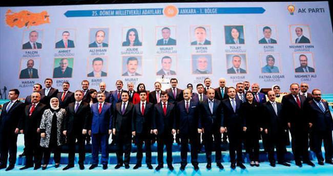 AK Parti coşkusu salona sığmadı